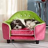 Pet Dog or Cat Sofa Style Bed with SNOOzZzONE Pet Comfort System