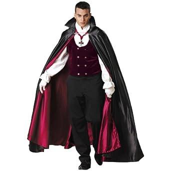Gothic Vampire Costume - Large - Chest Size 42-44