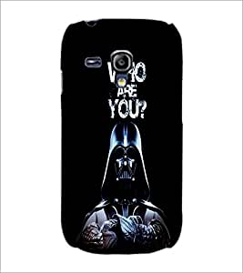 PrintDhaba Quote D-3763 Back Case Cover for SAMSUNG GALAXY S3 MINI (Multi-Coloured)