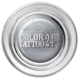 Maybelline Colour Tattoo 24 hour Eyeshadow Eternal Silver