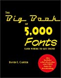 The Big Book of 5000 Fonts (and Where to Get Them)