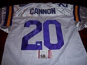 Billy Cannon Signed Jersey - heisman Jsa coa - Autographed College Jerseys by Sports+Memorabilia