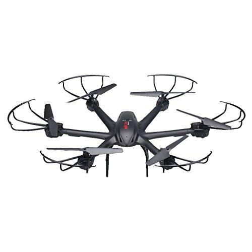 MJX X600 2.4G 6 Assi Una Chiave di Ritorno 3D Rullo Senza Testa Modalità Quadcopter Nero