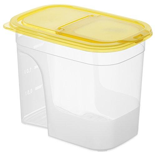 Sundis 1211001 Sunshine Boîte Plastique Transparent Orange 20,5 x 13,5 x 27 cm