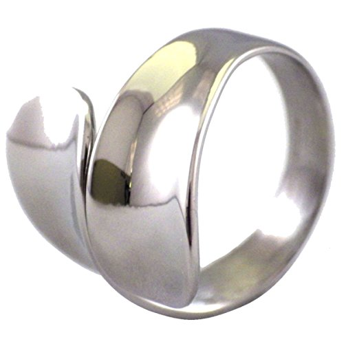 Fantasy Forge Jewelry Women's Stainless Steel 20mm Fashion Spoon Ring Size 8 (Forge Spoon compare prices)