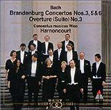 バッハ:ブランデンブルク協奏曲第3,5&6番