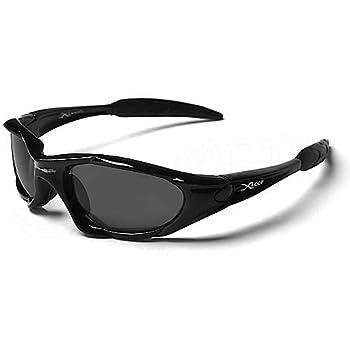 X-Loop Lunettes de Soleil - Sport - Cyclisme - Ski - Mode - Conduite - Moto - Plage / Mod. 1002 Noir / Taille Unique Adulte / Protection 100% UV400