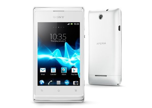 SONY XPERIA E C1505 (White ホワイト) SIMフリー 海外携帯