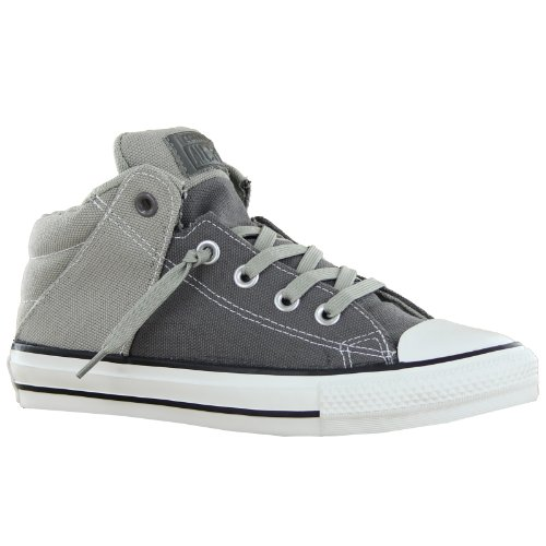 0f66a5011e68 Converse Unisex Chuck Taylor Axel Mid Charcoal Old Casual Shoe 5 Men US 7  Women US