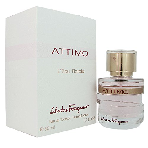 Salvatore Ferragamo Attimo L'eau Florale Eau de Toilette Spray for Women, 1.7 Ounce
