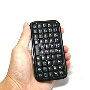 Black Mini Bluetooth Wireless Keyboard for iPhone 4, iPad, iPaq, PDA, MAC, OS, PS3, Droid, Smart Phones, PC, Computers