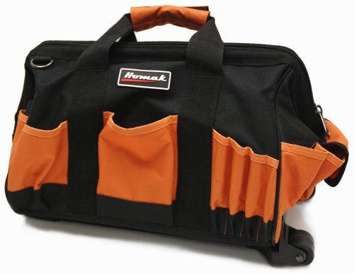 Images for HOMAK TB04015022 15-Inch Tool Bag with 22 Pockets & Pull Handle