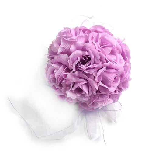 Lavender Rose Ball Wedding Flower Decoration