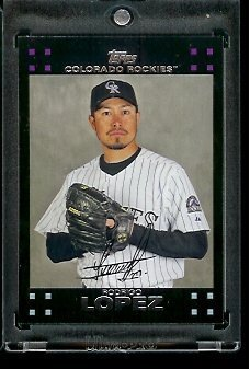 2007 Topps Rodrigo Lopez Colorado Rockies #348 MLB Baseball Trading Card