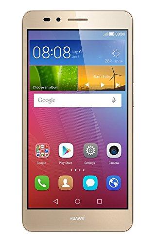 Huawei SIMフリースマートフォン GR5 16GB (Android 5.1/オクタコア/5.5inch/micro SIM) ゴールド KII-L22-GOLD SIMSET [OCN モバイル ONE micro SIM付]
