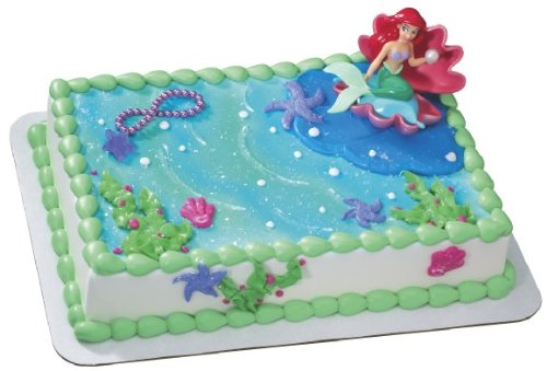 Little mermaid birthday cake ideas my blog for Ariel cake decoration