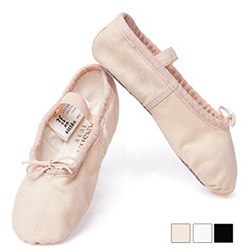 [Sunshine made] cloth ballet shoes full sole concepts 4 M width (standard width) pink HM(20.5cm)