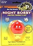 Night Bobby Lighted Fishing Float - 1-3/4-Inch - Red (Red, 1-3/4-Inch)