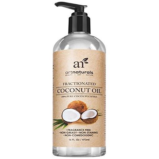 Art-Naturals-Kokosl-473-ml-100-Rein-Fraktioniert-Kokosnussl-Stets-Flssig-nahezu-Geruchlos-Bestes-Massagel-Natrlicher-UV-Filter-Anti-Aging-Anti-Falten-Schutz-Fr-jeden-Hauttyp-Ideal-fr-Trockene-Haut-Haa