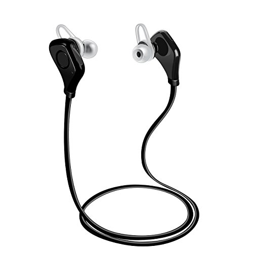 7eb49217cc1 Best Bluetooth Headphone Wireless Noise Cancelling Headset with Microphone  Sweatproof Great for Working Out