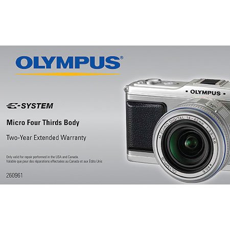 Olympus 2 YR Extended Warranty for Micro Four Thirds Cameras