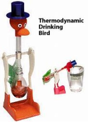 Drinking Bird Colors Vary - 1