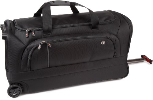 Victorinox Luggage Werks Traveler 4.0 Wt Wheeled Duffel Bag, Black, 31 top price