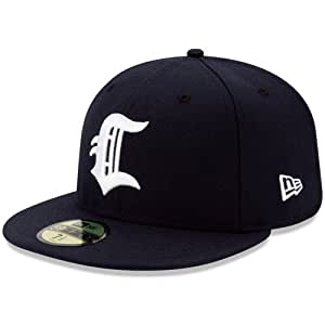 connecticut tigers authentic home fitted cap