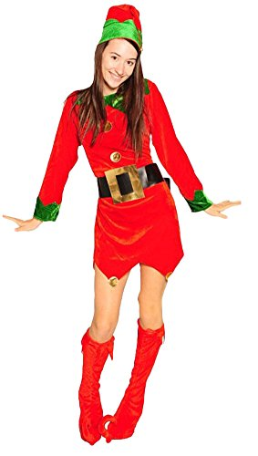 Ace Halloween Women's Funny Christmas Clown Costume