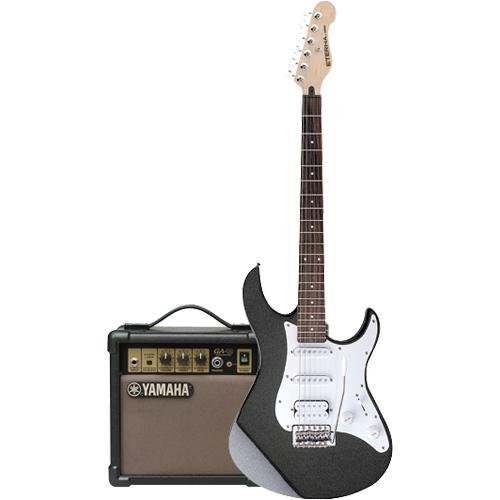 Amazon.com: Yamaha ET112MBCF Eterna Electric Guitar Pack