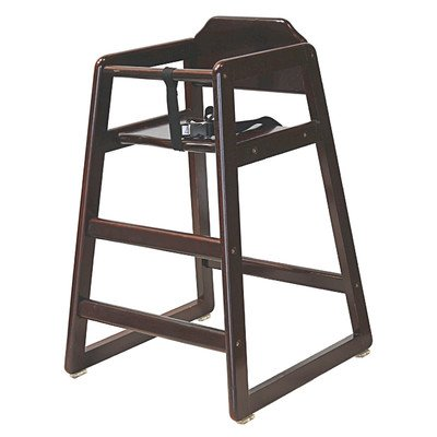 Stackable Wood High Chair Finish: Cherry front-690141