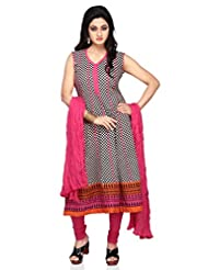 Vastra Vinod Blocks Print Cotton Anarkali Kurti