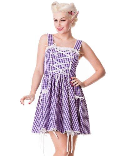 Hell Bunny Lavender Jinmu Lolita Dress S - UK 10 / EU 38