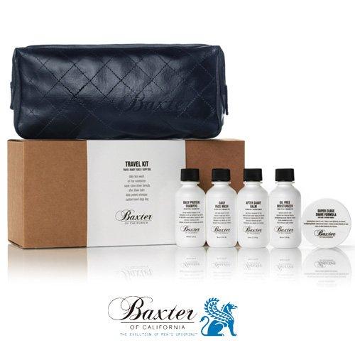Baxter バクスター トラベルキット TSA 米国運輸保安局認可トラベルキット