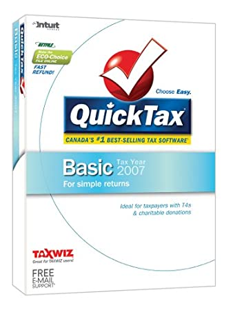 QuickTax 2007 Basic [Old Version]