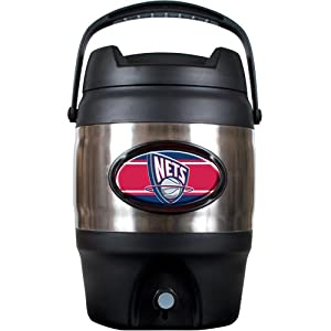 NBA New Jersey Nets 3 Gallon Stainless Steel Jug by Great American Products