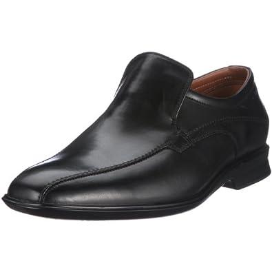 Clarks 20343889 Goya Emir, Chaussures basses homme - Noir-TR-SW702, 39.5 EU