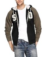 s.Oliver Herren Sweatshirt-Jacke 13.309.43.5519