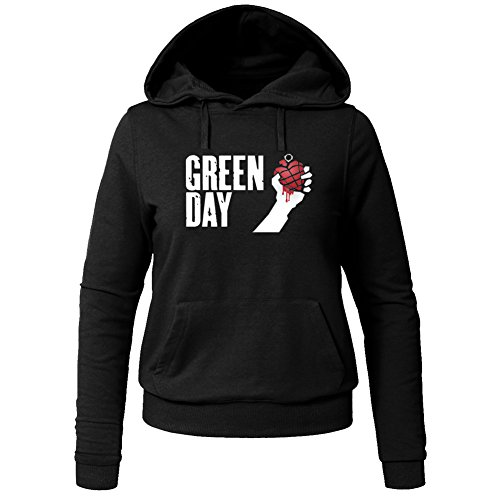 Pop Green Day For Ladies Womens Hoodies Sweatshirts Pullover Outlet