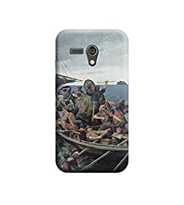 EPICCASE Premium Printed Back Case Cover With Full protection For Motorola Moto G (Designer Case)