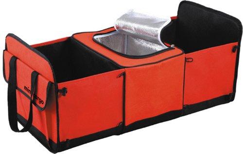 車用収納ボックスmini Cargo 赤 603115