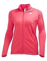 Helly Hansen Women's W Vertex Full Zip Stretch Jacket Midlayer Pink Pinkglow Size:S