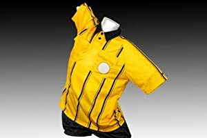 RefGear Starter Referee Jersey, Yellow, Adult Large