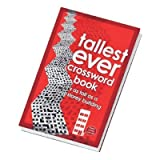 Tallest Ever Crossword Book, Long Lasting Brain Teaser
