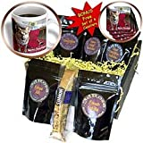Sandy Mertens Christmas Dog Designs - Christmas German Shepherd - Coffee Gift Baskets - Coffee Gift Basket ~ Sandy Mertens