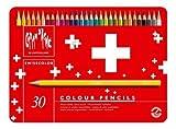 カランダッシュ スイスカラー色鉛筆 30色セット 缶入 1285-730