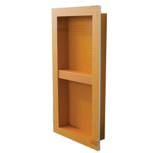 Best Buy! Schluter KERDI-BOARD-SN: Shower Niche (with shelf) 12x28