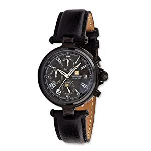 Classic Automatic Black 32mm Calendar Watch by Steinhausen, Best Quality Free Gift Box Satisfaction Guaranteed