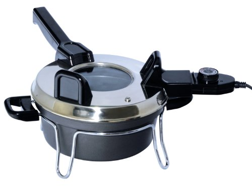Total Chef Tccz02Sn 3-Liter Czech Multi Cooker With Temperature Control, Black