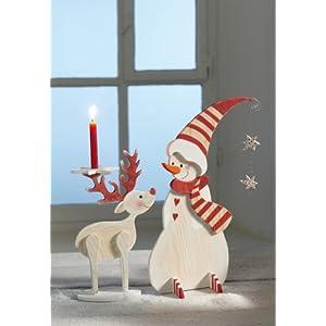 Holzfiguren für Winter & Weihnachten